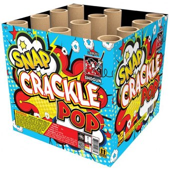 SNAP, CRACKLE, POP